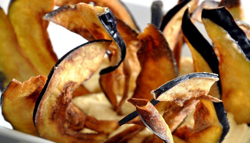 Chips de Berenjenas y Zapallitos