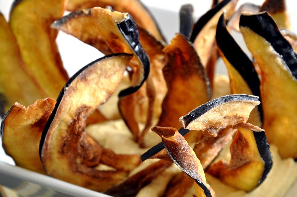 Resultado de imagen para Chips de Berenjenas