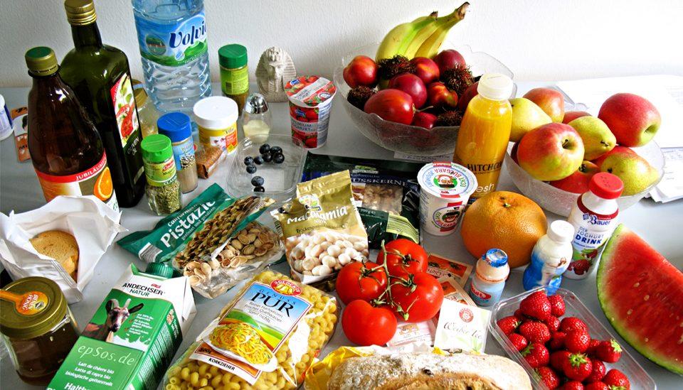 Comenzar el plan de alimentación: Lista de compras