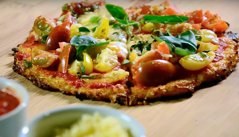 Pizza sin harina - Thumb
